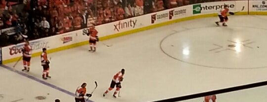 Wells Fargo Center is one of NHL (National Hockey League) Arenas.