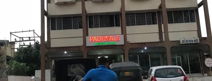 Padiwal's Veg Restaurant is one of Lugares favoritos de Priya.