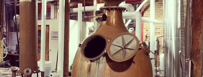 Corsair Distillery & Taproom is one of Breweries or Bust 2.