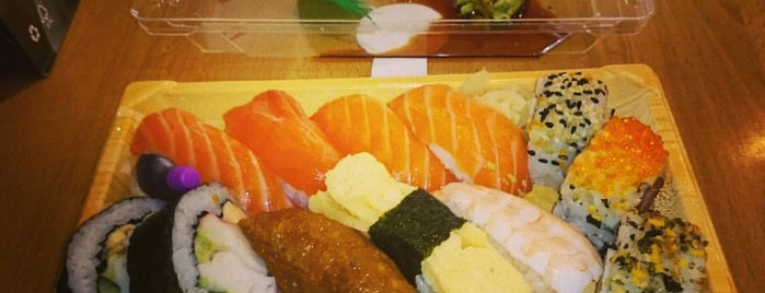 Sushi Sushi is one of Tempat yang Disukai Samuel.