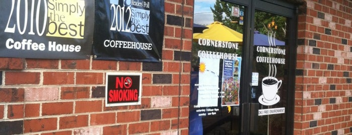 Cornerstone Coffeehouse is one of Lugares favoritos de Richard.