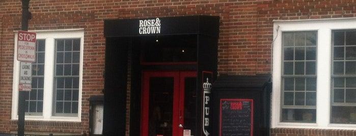 Rose & Crown is one of Ed'in Beğendiği Mekanlar.