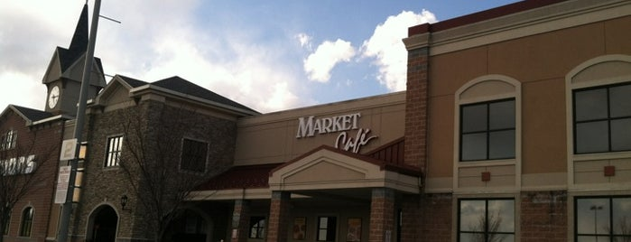 Wegmans Market Cafe is one of Food and Drink.