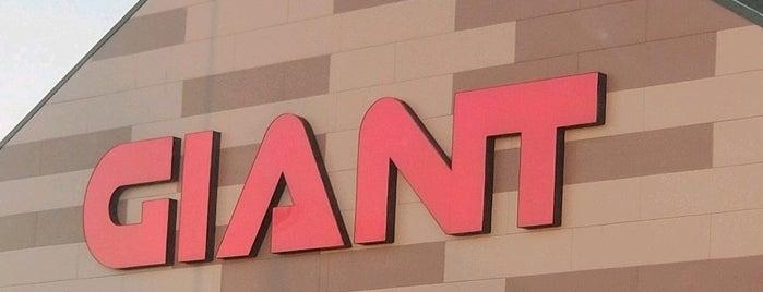 Giant Food Store is one of Jason 님이 좋아한 장소.