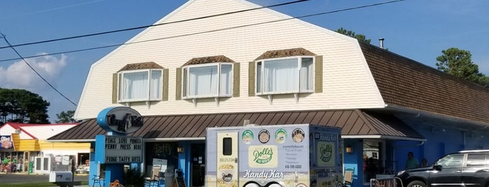 Pony Tails Sweets is one of Chincoteague.