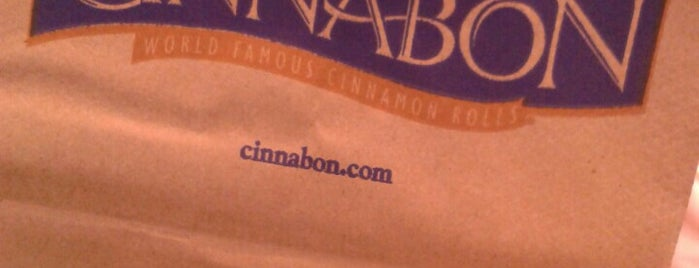 Cinnabon is one of Lieux sauvegardés par Martin.