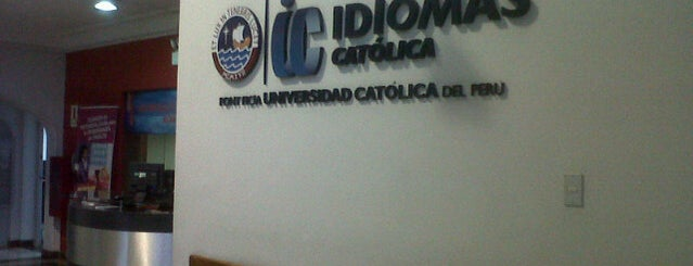Idiomas Católica is one of Locais curtidos por Alicia.