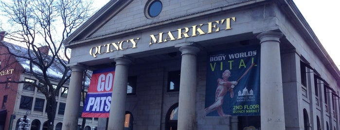 Quincy Market is one of Boston: Fun + Recreation.