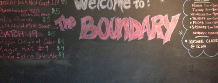 The Boundary American Grille & Tavern is one of Best restaurants.