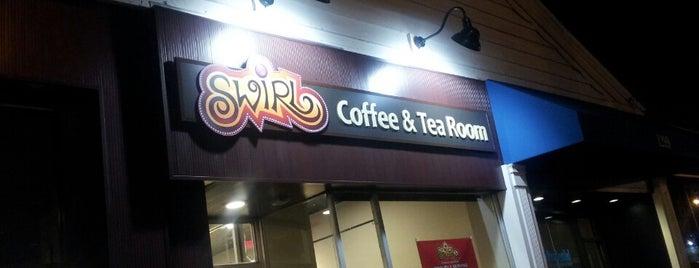 Swirl Coffee and Tea Room is one of Locais salvos de seth.