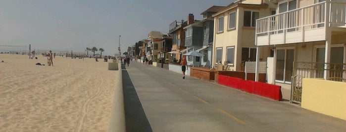 Hermosa Beach - The Strand is one of South Bay Spots.