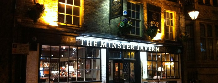 Minster Tavern is one of Good Beer Pubs.