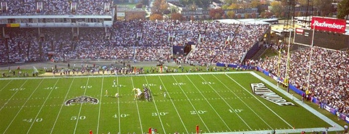 Memorial Stadium (Former Site) is one of Sports Venues.