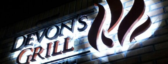 Devons Steak House is one of Lugares favoritos de Antonio Carlos.