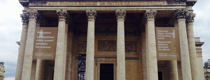 """Panthéon is one of Le parcours """"Pass Jeunes""""."""