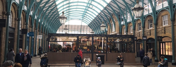 Covent Garden is one of London To Dos.