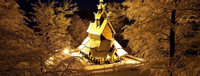 Fantoft stavkirke is one of Norway.