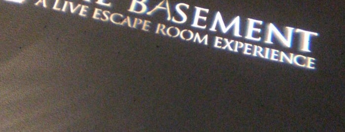 THE BASEMENT: A Live Escape Room Experience is one of California's best places.