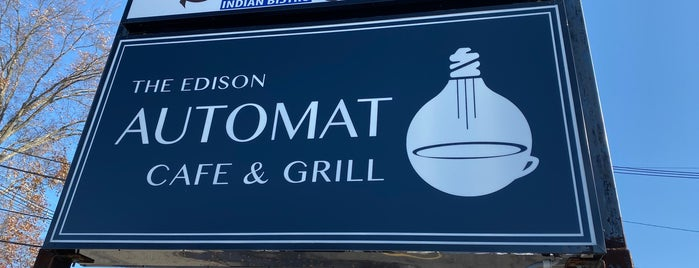 The Edison Automat Cafe & Grill is one of New Jersey.