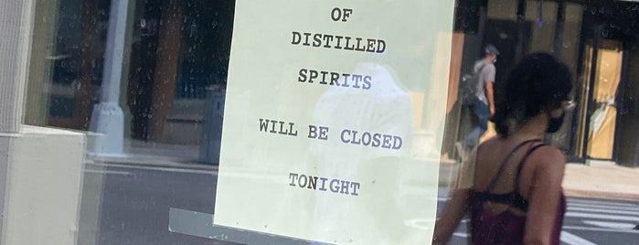 Library Of Distilled Spirits is one of New Restaurants to Try.