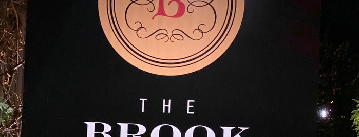 The Brook Tavern is one of Saratoga Springs.