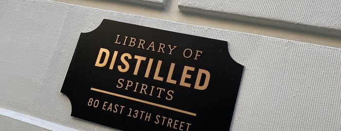 Library Of Distilled Spirits is one of Crypto : понравившиеся места.