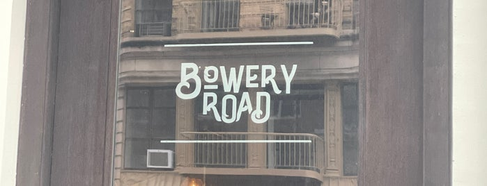 Bowery Road is one of NYC Vegetarian Friendly.
