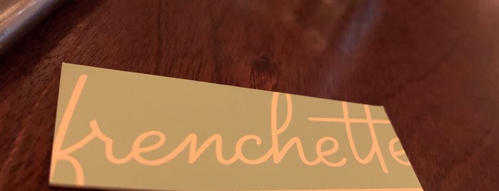 Frenchette is one of Quick, I need a date spot..