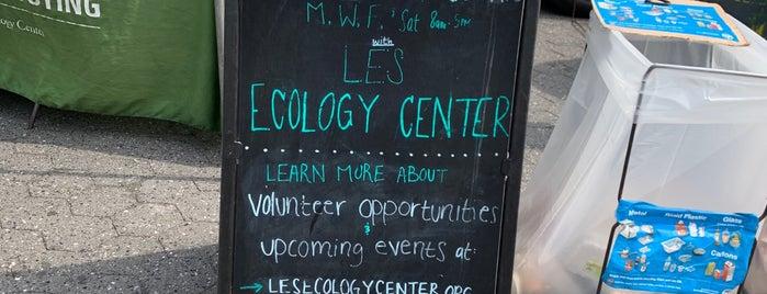 Lower East Side Ecology Center Compost Stand is one of Jen'in Beğendiği Mekanlar.