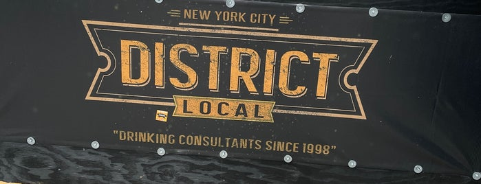 District Local is one of Bars.