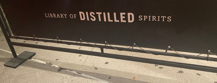 Library Of Distilled Spirits is one of The Wordly Lush 🍸.