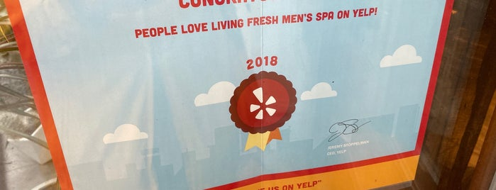Living Fresh Mens Spa is one of NYC.