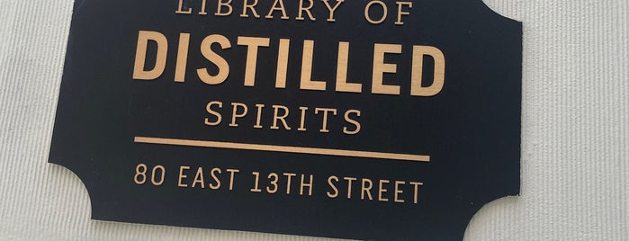 Library Of Distilled Spirits is one of Booze.