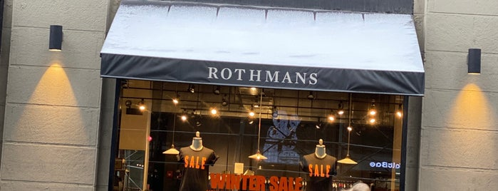Rothmans New York is one of NY touristique.