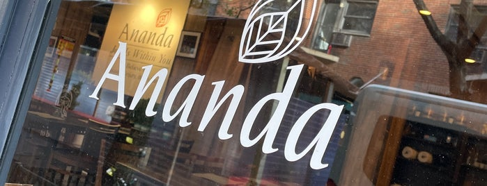 Ananda is one of vegan NYC.