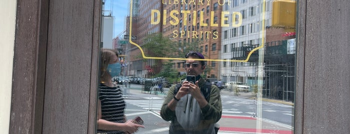 Library Of Distilled Spirits is one of NYC: Drinks.