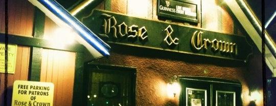 Rose and Crown Pub is one of Locais curtidos por Dennis.