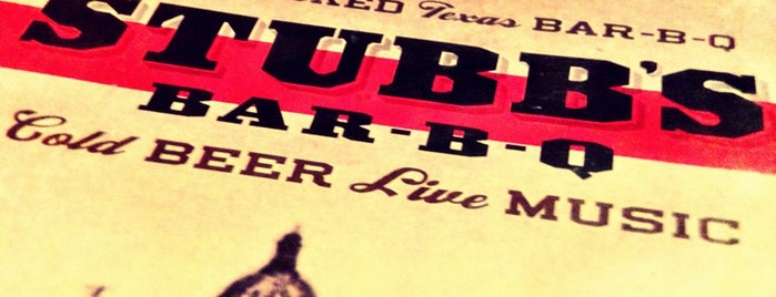 Stubb's Bar-B-Q is one of SXSW 2013.
