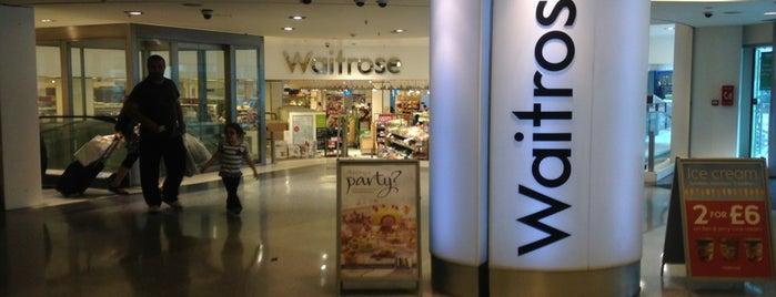 Waitrose & Partners is one of Orte, die Anastasia gefallen.