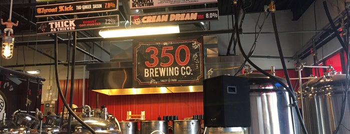 350 Brewing Co is one of Chicago area breweries.