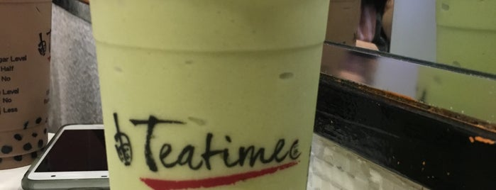Teatime is one of Jamesさんのお気に入りスポット.