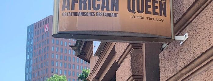 African Queen is one of Frankfurt.