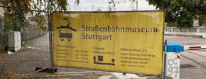 Straßenbahnwelt Stuttgart is one of Stuttgart.