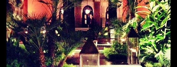 La Mamounia is one of Morocckin' Marrakech.