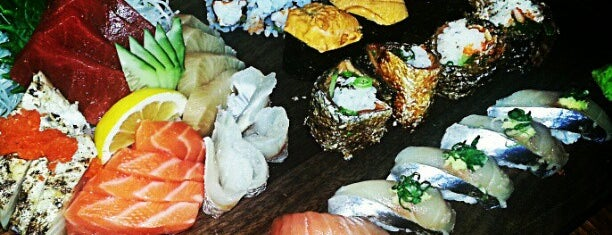 Blue Ribbon Sushi is one of Restaurants.