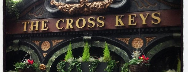 The Cross Keys is one of Tempat yang Disukai Carl.