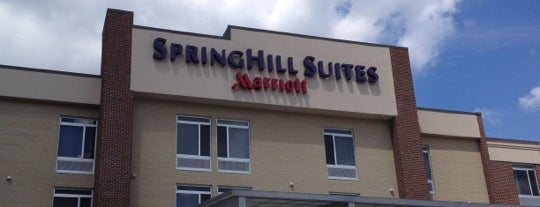 SpringHill Suites by Marriott is one of Alejandro : понравившиеся места.