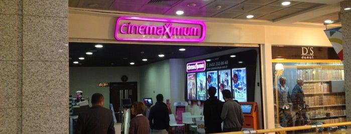 Cinemaximum is one of สถานที่ที่ Z. Göksel ถูกใจ.