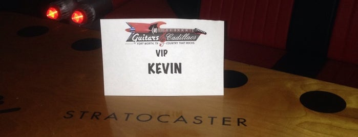 Guitars and Cadillacs is one of Lugares guardados de Kat.
