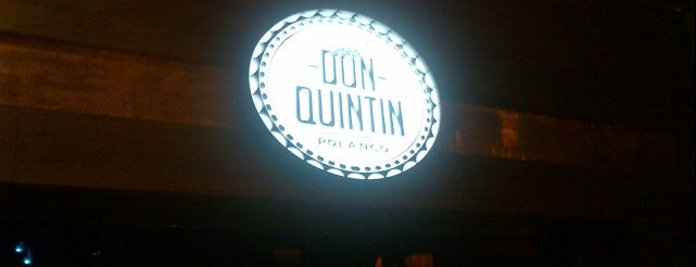 Don Quintín is one of Bares DF.